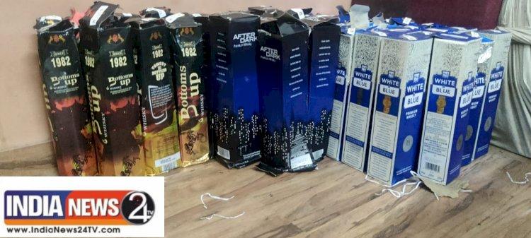 इंदौर =*अवैध शराब की तस्करी करने वाले तीन आरोपी क्राईम ब्रांच की गिरफ्त मे आरोपी दिल्ली से लाकर इंदौर मे खपाते थे अवैध शराब।*